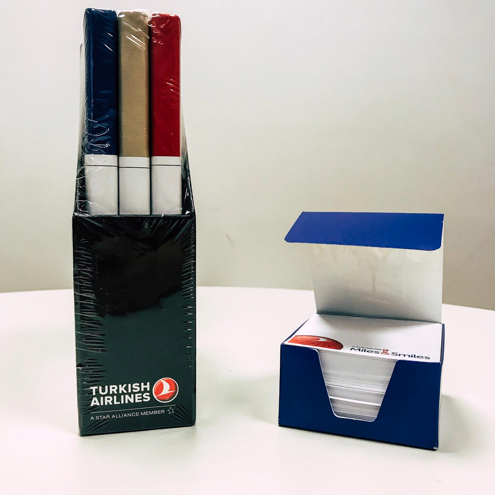 Pack Note books + Post-it Turkish Airlines